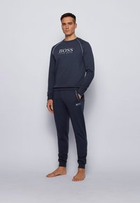 BOSS - TRACKSUIT SWEATSHIRT - Sweater - dark blue - 1
