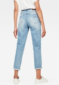 G-Star - 3301 HIGH STRAIGHT 90'S ANKLE - Straight leg jeans - authentic blue - 1