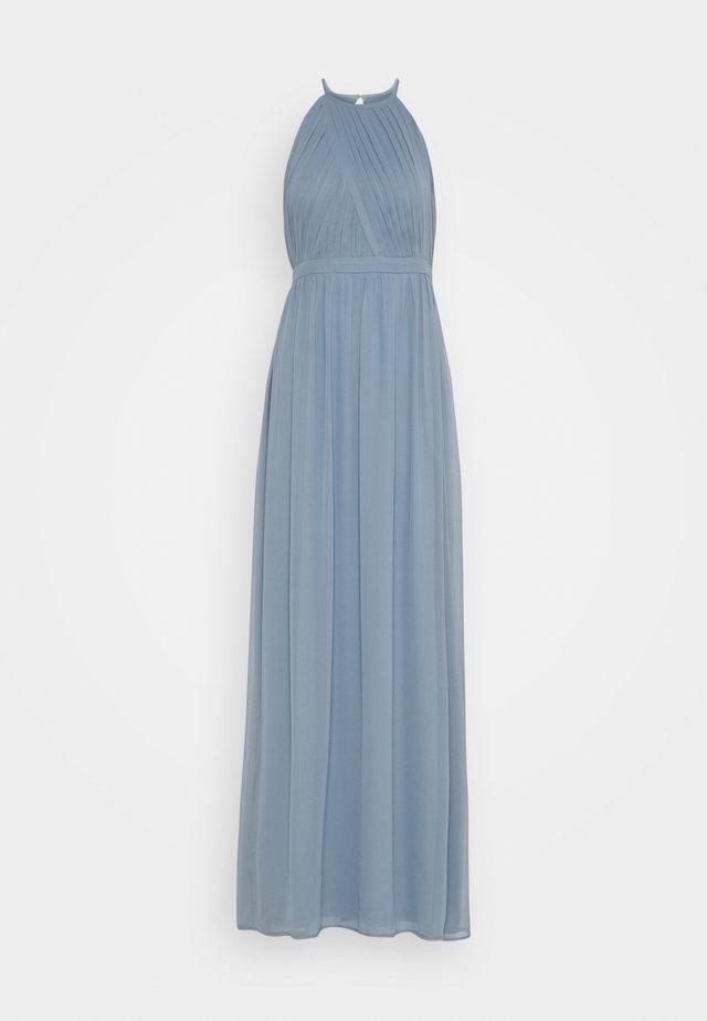 HEAVENLY SPORTSCUT GOWN - Společenské šaty - dusty blue