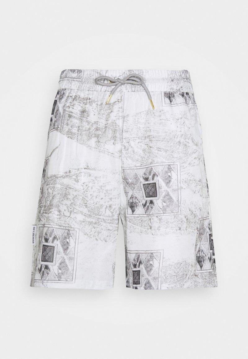 Han Kjøbenhavn - TRACK - Shorts - bleach diamond