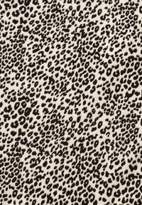 Olsen - MIT LEOPARDENPRINT - A-line skirt - black, beige - 3