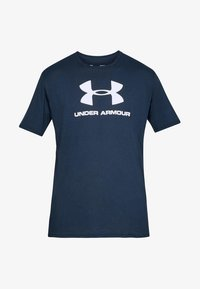 Under Armour - T-shirts print - marine - 0