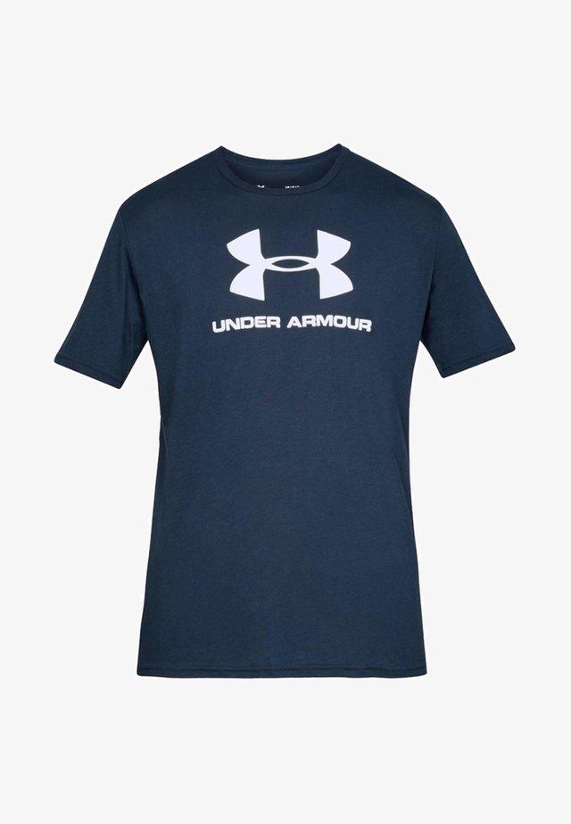 T-shirts med print - marine