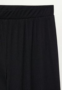 Violeta by Mango - KENNER - Trousers - schwarz - 5