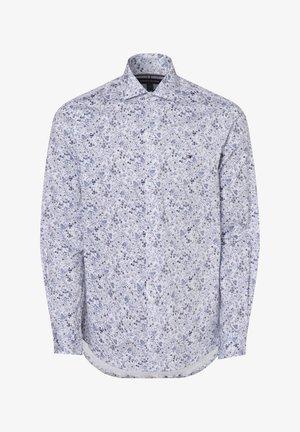 Formal shirt - weiß blau