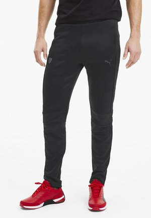 PUMA SCUDERIA FERRARI T7 MEN'S TRACK PANTS MAN - Pantalon de survêtement -  black