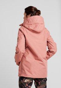 Volcom - FERN INS GORE - Snowboard jacket - mauve - 2