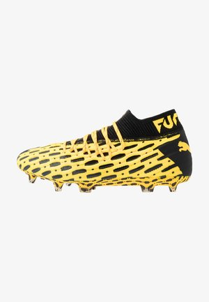 FUTURE 5.1 NETFIT FG/AG - Moulded stud football boots - ultra yellow/black