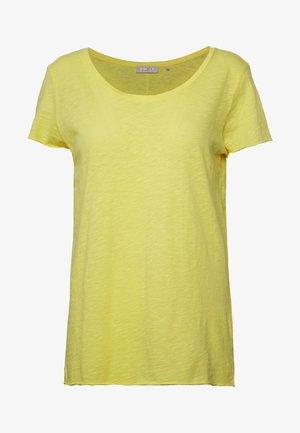 T-shirt basic - light lemon
