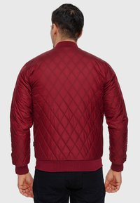 INDICODE JEANS - NOVAK - Light jacket - bordeaux - 2
