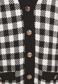 mbyM - GIGGI - Cardigan - black/white - 2