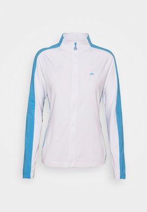 MARIE FULL ZIP MID LAYER - Training jacket - white