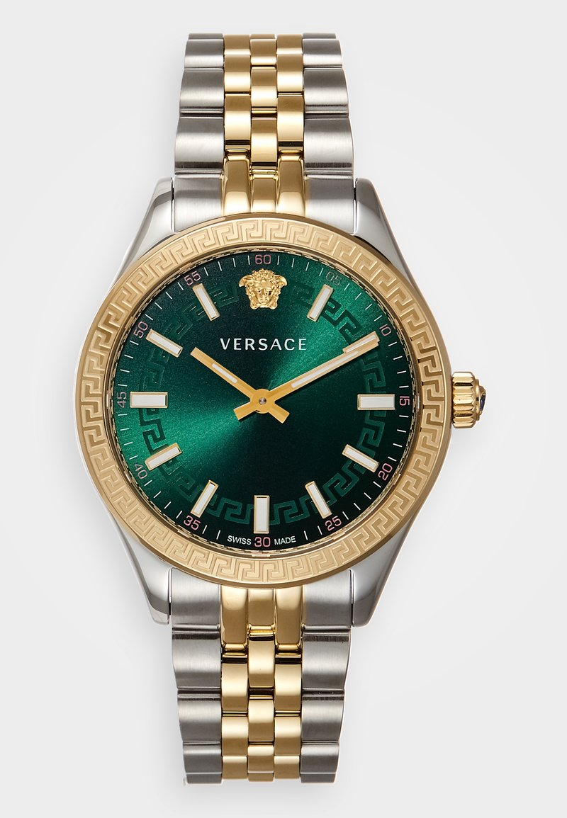 Versace Watches - HELLENYIUM - Hodinky - gold-coloured/silver-coloured