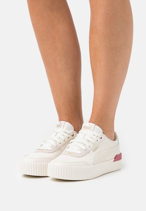 CARINA LIFT - Sneakers basse - whisper white/mauvewood