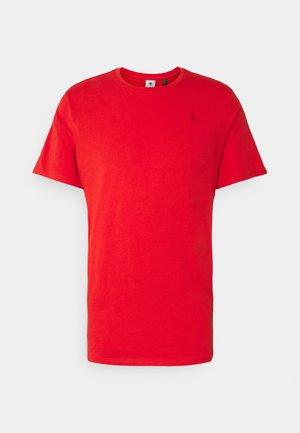 BASE-S R T S\S - T-shirt basic - compact jersey o - dark candy