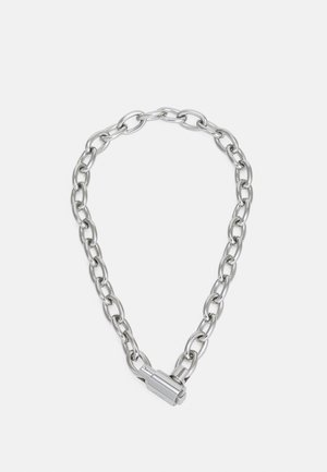 COLLATERAL UNISEX - Necklace - silver-coloured