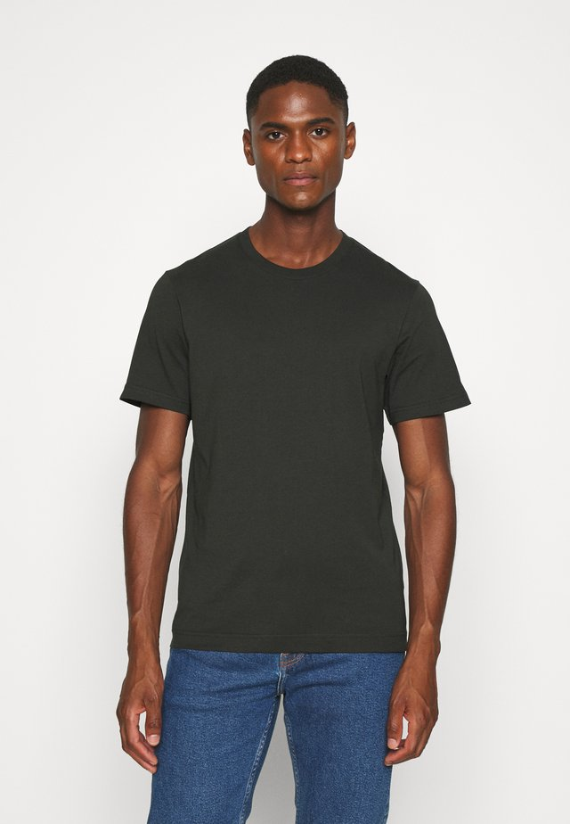 T-shirt basic - green dark
