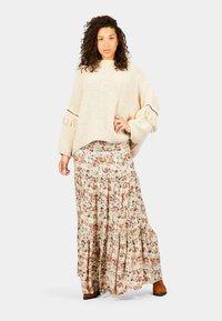 Isla Ibiza Bonita - PARAISO - Pleated skirt - autumn paradise - 0