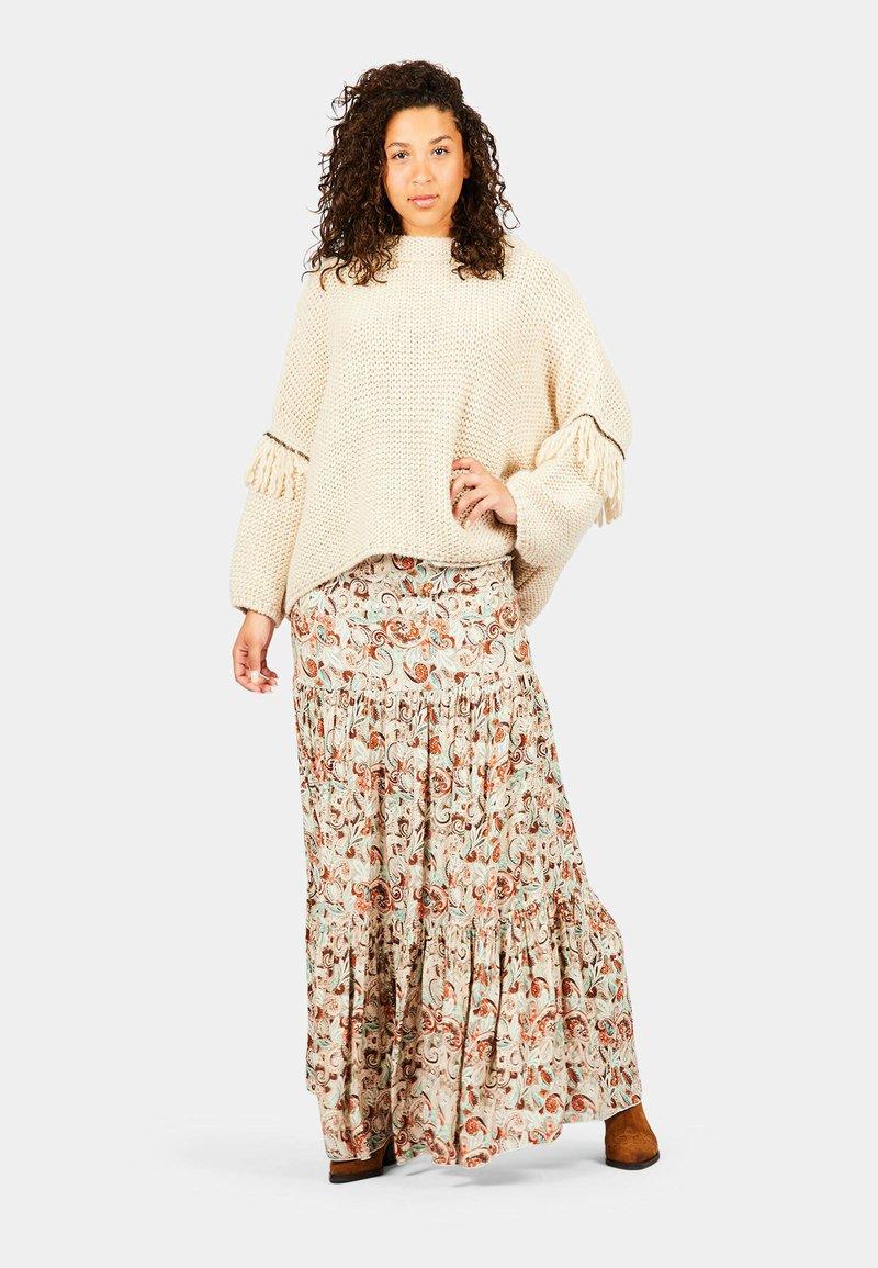 Isla Ibiza Bonita - PARAISO - Pleated skirt - autumn paradise