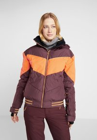 Roxy - SUMMIT  - Snowboard jacket - grape wine - 0