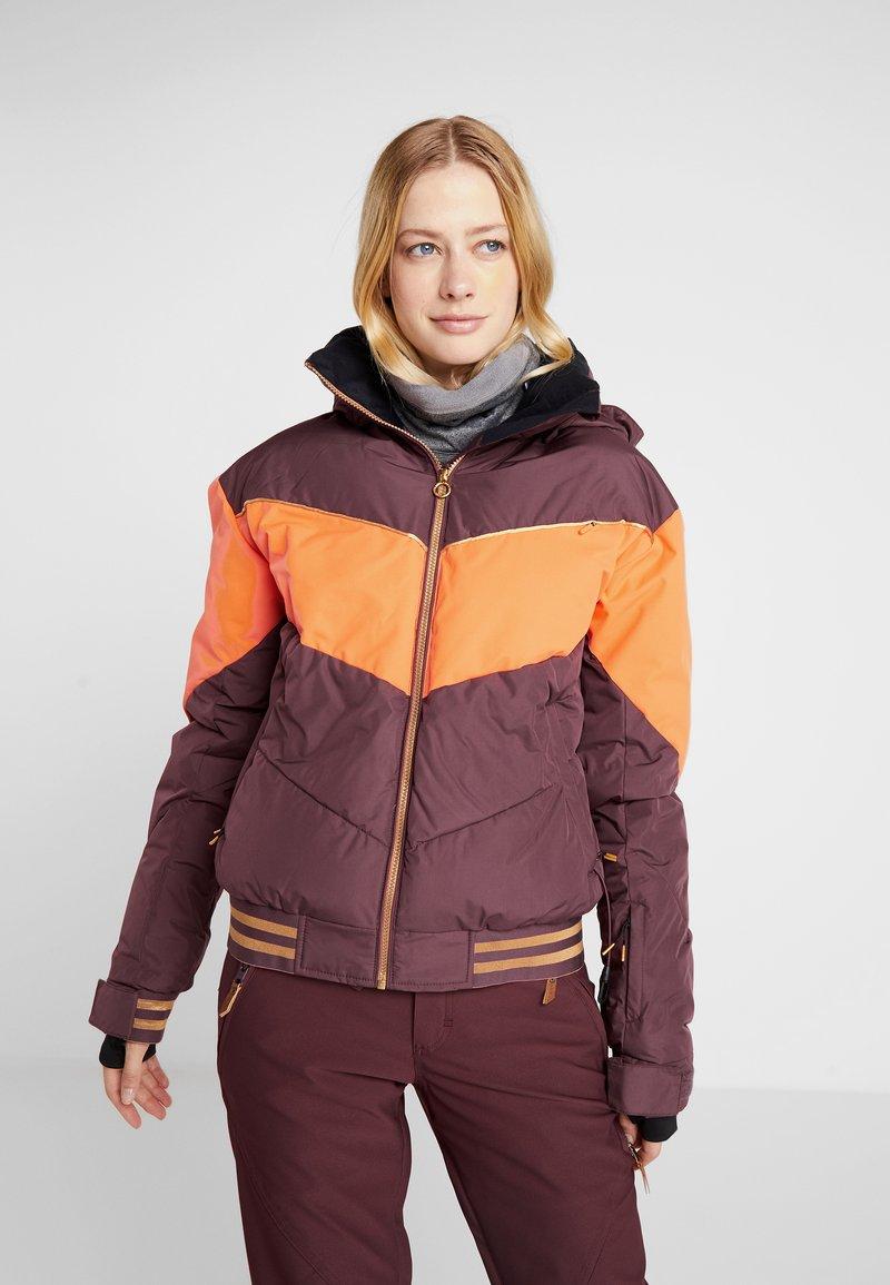 Roxy - SUMMIT  - Snowboard jacket - grape wine