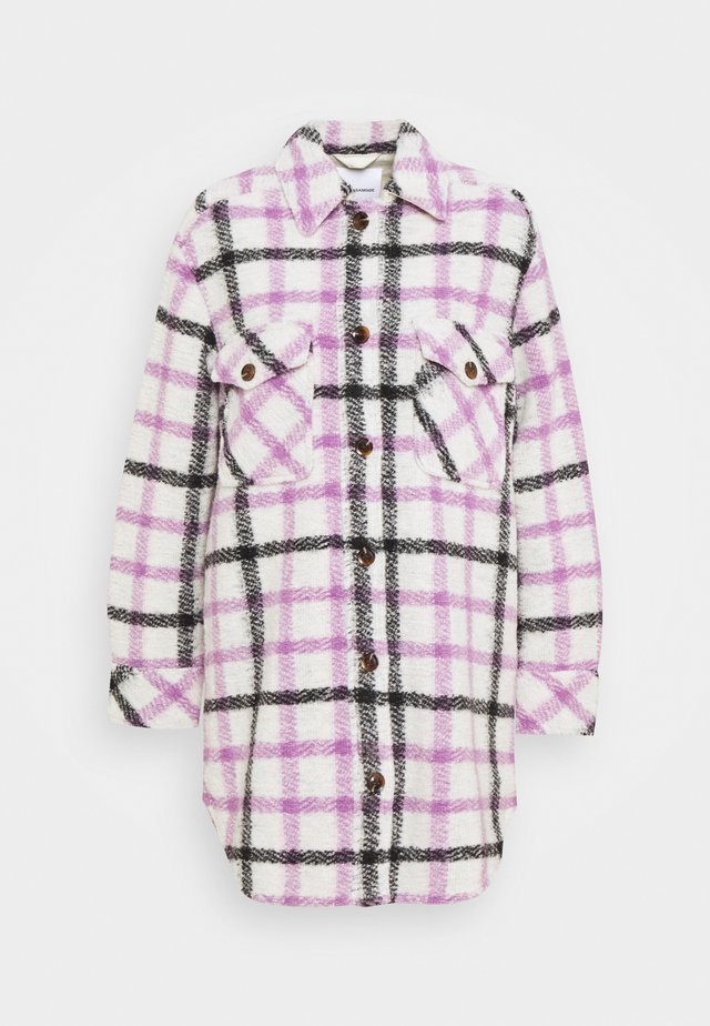 GALATEA OVERSHIRT  - Short coat - purple