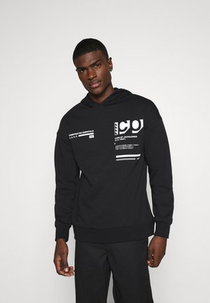 JCOEASTON HOOD - Sweat à capuche - black