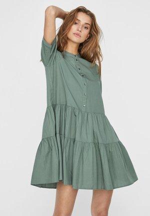 STEHKRAGEN - Shirt dress - laurel wreath