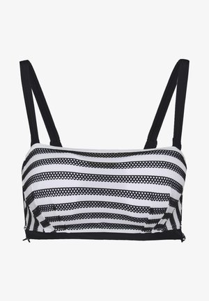 SUNSEEKER BANDEAU - Bikini top - monochrome
