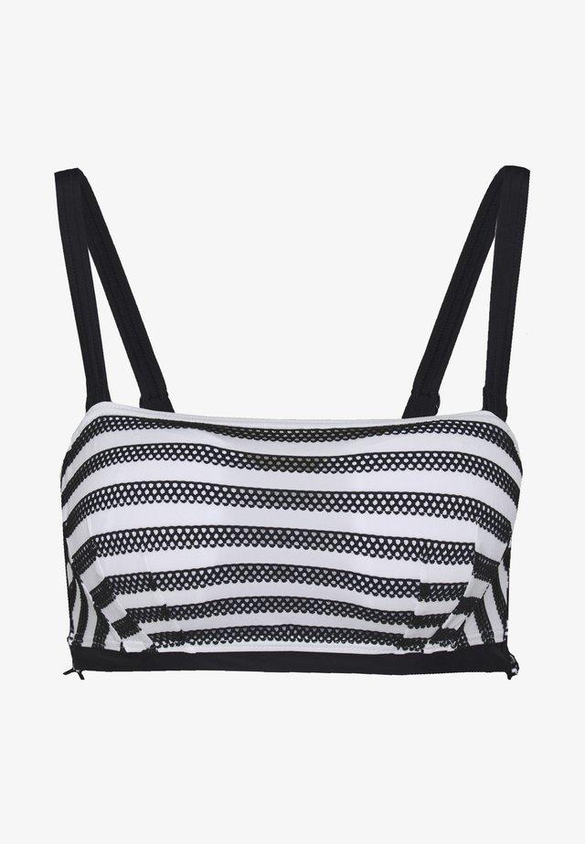 SUNSEEKER BANDEAU - Top de bikini - monochrome