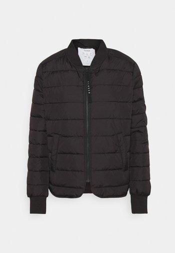 ECHO SHORT JACKET - Light jacket - black