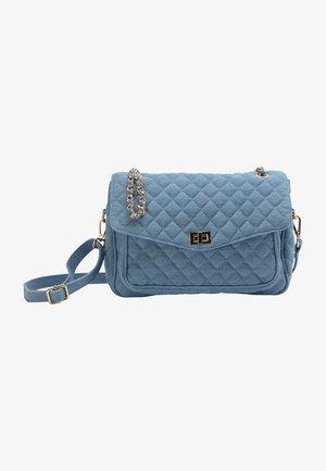 Across body bag - blau denim