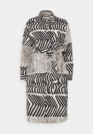 CLASSICS POLKUE SILKKIKUIKKA DRESS - Shirt dress - off-white/black
