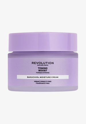 TONING BOOST CREAM WITH BAKUCHIOL - Crema da giorno - -