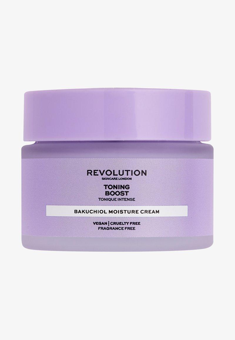 Revolution Skincare - TONING BOOST CREAM WITH BAKUCHIOL - Face cream - -