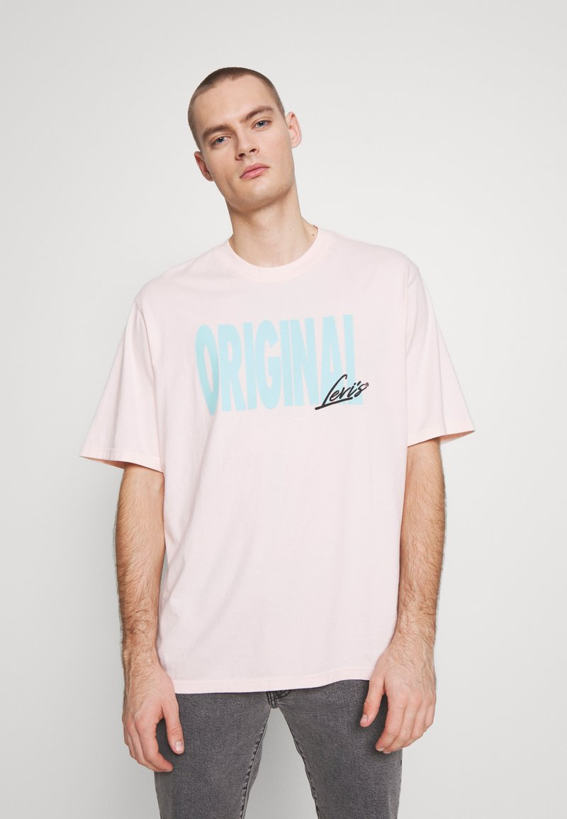 Levi's® - GRAPHIC TEE - T-shirt con stampa - original veiled rose