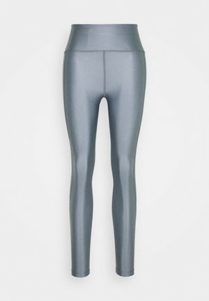 CROPPED GLOSS LEGGING - Leggings - silver grey