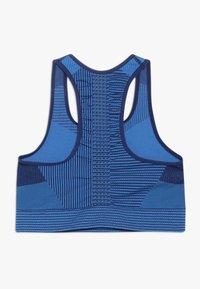 Nike Performance - FENOM SEAMLESS BRA - Sports bra - blue void/light photo blue - 1