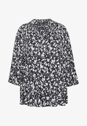 DUONG LONG SLEEVE - Blouse - black/white