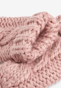 Next - CABLE  SET - Beanie - pink - 3