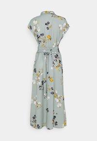 Vero Moda Tall - VMHALLIE LONG TIE DRESS - Maxi dress - green milieu - 1