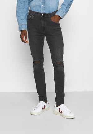 SUPER SKINNY - Jeans Skinny Fit - denim black