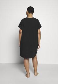 Calvin Klein Underwear - ONE LOUNGE NIGHTSHIRT - Chemise de nuit / Nuisette - black - 2
