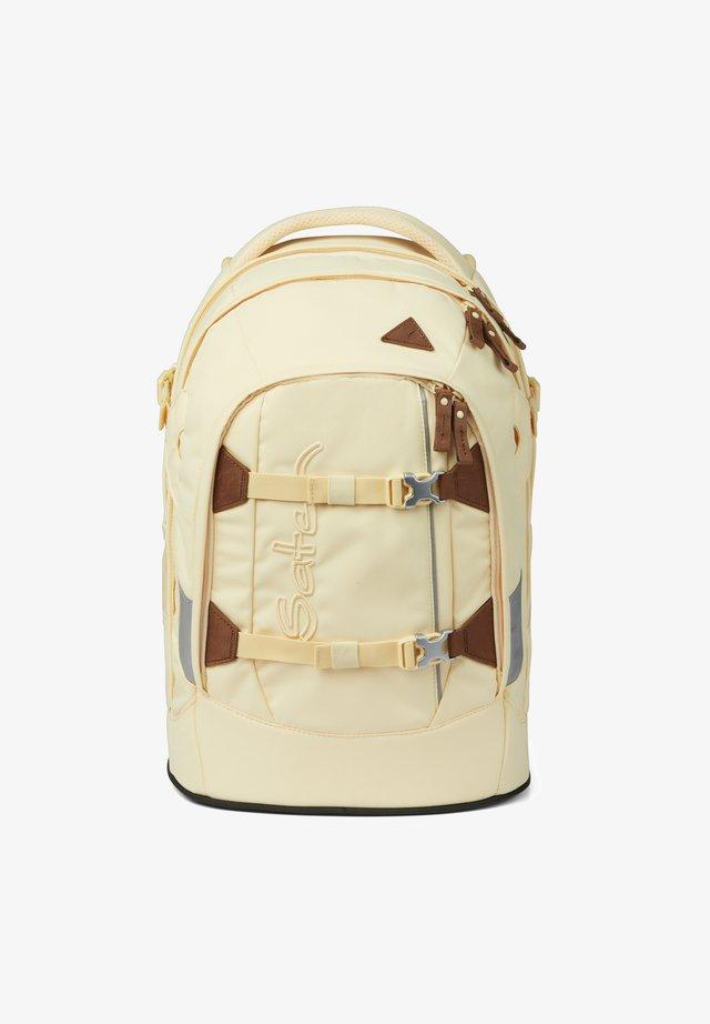 Schooltas - light yellow brown