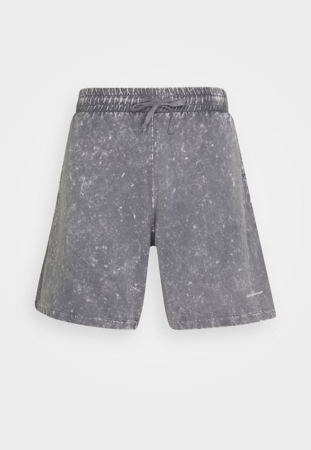 ACID WASH - Shorts - grey