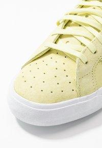 adidas Originals - BASKET PROFI WOMEN - High-top trainers - yellow tint/footwear white/gold metallic - 2