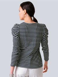 Alba Moda - Long sleeved top - black, white - 2