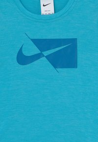 Nike Performance - Printtipaita - chlorine blue/imperial blue - 2