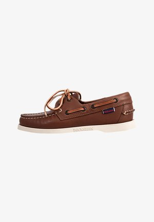 DOCKSIDES FGL W - Boat shoes - brown