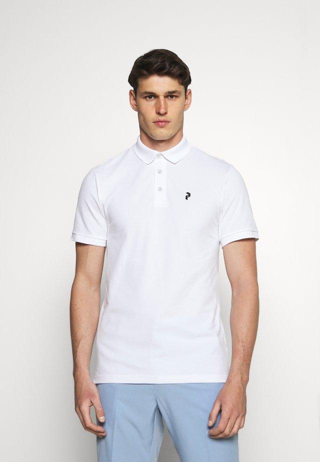 CLASSIC - Polo - white